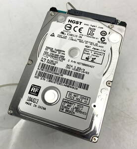 * HGST built-in HDD 500GB hard disk 2.5 -inch [ use :21600 hour ] [HTS545050A7E380] [ the first period . ending ] / used (S0721_5)