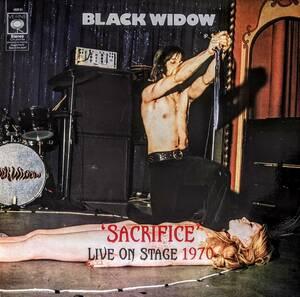 Black Widow ブラック・ウィドウ - Sacrifice - Live On Stage 1970 限定アナログ・レコード