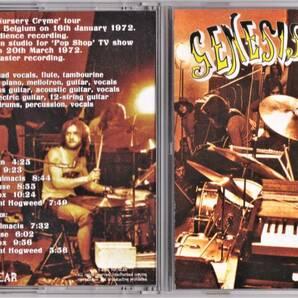 Genesis ジェネシス - Live in Belgium 1972 ボーナス・トラック4曲追加収録CD