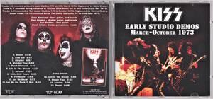 Kiss キッス - Early Studio Demos March-October 1973 ボーナス・トラック4曲追加収録CD