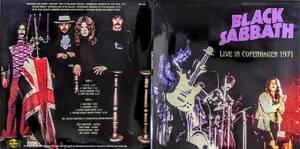 Black Sabbath ブラック・サバス - Live In Copenhagen 1971 ボーナス・トラック1曲追加収録500枚限定アナログ・レコード