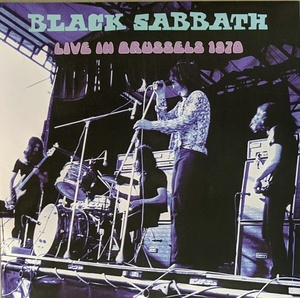 Black Sabbath ブラック・サバス - Live In Brussels 1970 限定アナログ・レコード