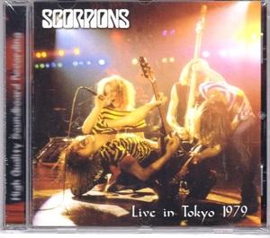 Scorpions スコーピオンズ - Live In Tokyo 1979 ボーナス・トラック4曲追加収録CD