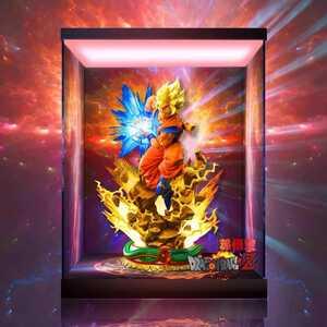 メガハウス×プライム1スタジオ ドラゴンボールZ 孫悟空 /専用/ フィギュアケース 展示ケース LED照明 アクリル コレクション ショーケース