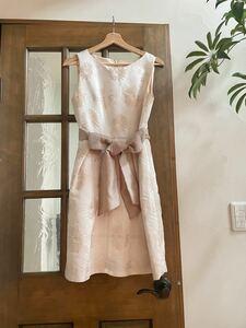 定価4.2万 美品 グレースコンチネンタル ベージュドレス ワンピース
