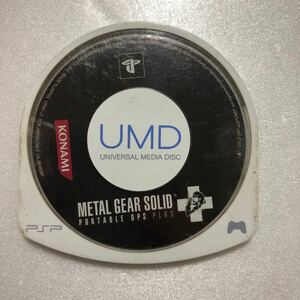 PSP METAL GEAR SOLID PORTABLE. OPS. PLUS