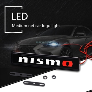 NISMO LED emblem illumination Nismo Nissan Nissan NISSAN badge sticker