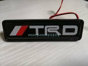 TRD LED emblem illumination TOYOTA Toyota badge sticker 86 Supra aqua Corolla Passo Prius C-HR Vellfire