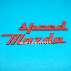 retro manner? new color MAZDASPEED metal emblem red moreover, Gold Mazda Speed badge sticker MS RX8 CX5 CX-3 MS Atenza