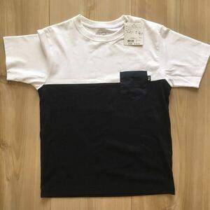THE NORTH FACE/ノースフェイス/S/S 2 Tone Pocket Tee/Tシャツ/ポケT/M/NT31949/バイカラー/アウトドア/