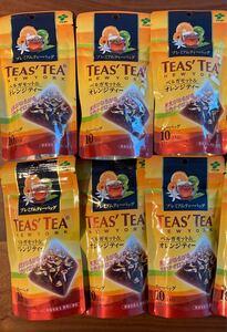 在庫ラスト!伊藤園 TEA'STEA ベルガモット&オレンジティー 10個入り×6袋セット