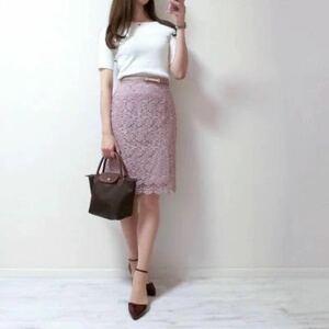 UNIQLO 完売品 総レースタイトスカート