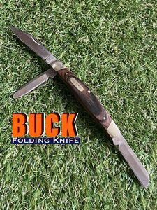 BUCK Folding Knife #902 3枚刃 バック フォールディングナイフ