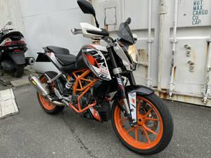 すぐ乗れます♪ KTM 390DUKE 390デューク アクラポマフラー エンジンガード シート (GooBike掲載中) 車検~2023.6/16 福岡より