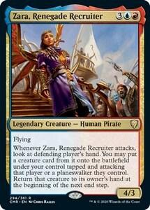 改革派の勧誘者、ザラ/Zara, Renegade Recruiter [CMR] 統率者レジェンズ MTG 英語 294 H0.5Y0.5