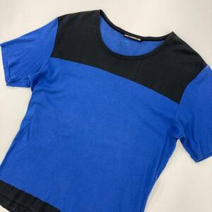 ISSEY MIYAKE MEN イッセイミヤケ メン Tシャツ ブルー ブラック 2サイズ メンズ 日本製 カットソー ISSEYMIYAKE archive 1060017