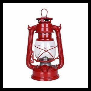 オイルランプ ビンテージ レトロ ヴィンテージ 灯油ランプ ランプ 灯油ランタン ハリケーンランプ レッドふ