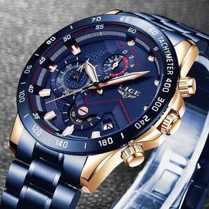 【新品1円~】※限定1品【最新メンズクォーツ腕時計】@KM50718 海外ブランド高級ウォッチ 【最安】ビジネス ファッション 人気 精密