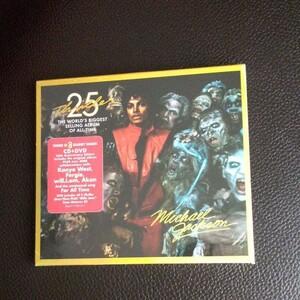 【輸入盤】 Thriller (25th Anniversary Edition) (CD+DVD) マイケルジャクソン スリラー