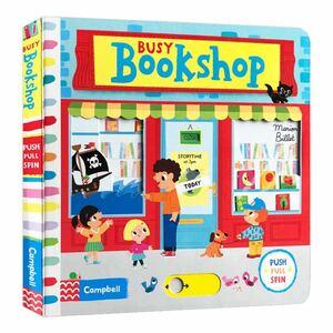 Busy Bookshop 英語仕掛絵本 ★新品