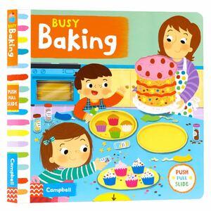 Busy Baking 英語仕掛絵本 ★新品