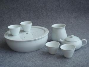 送料込 即決 チンシャン QING XIANG 清香 中国茶器セット 7点 茶盤 茶壷 茶海 茶杯 聞き茶