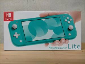Nintendo Switch Lite turquoise 新品未使用品 任天堂 スウィッチ ライト ターコイズ 本体 印字有