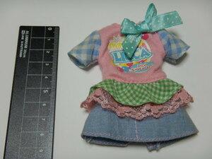 タカラ リカちゃん ブライス フリル リボン ワンピース 洋服 アウトフィット 人形用 ドール 1/6