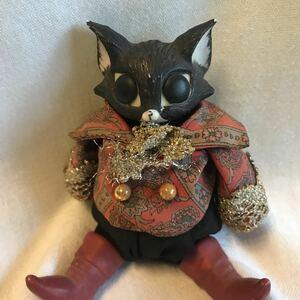 オークワードナイト 猫 オルゴール ネコの置物