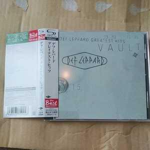 デフ・レパード・グレイテスト・ヒッツ SHM-CD