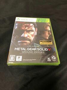 XBOX360 METAL GEAR SOLID V GROUND ZERO 新品