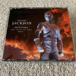 匿名配送 CD マイケル・ジャクソン ヒストリー パスト、プレズント・アンド・フューチャー ブック1 2CD