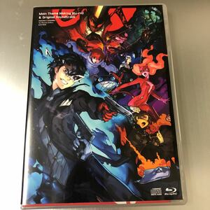 ペルソナ5 スクランブル ザ ファントム ストライカーズ サウンドトラック CD & BD メイキングムービー Blu-ray