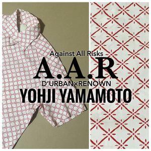 ★☆ Size-M☆★A.A.R YOHJI YAMAMOTO×D'URBAN&RENOWN★☆大和模様☆★