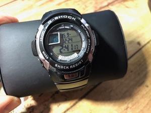 AK1234 デジタル CASIO カシオ G-SHOCK ジーショック 3095 G-7700 G-SPIKE ジースパイク ブラック メンズ 腕時計