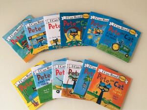 I can read phonics pete the cat ミニ絵本