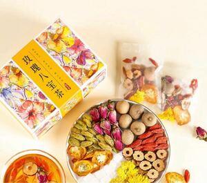 ローズ八宝茶 フルーツティー 健康茶 薬膳茶 美容茶 花茶