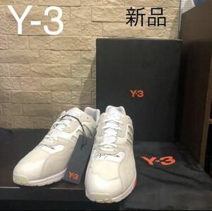 新品タグ付き ワイスリー Y-3 アディダス adidas ヨウジヤマモト yohji yamamoto スニーカー