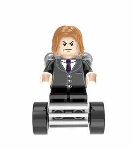 翌日発送 1 体  プロフェッサーX x-man ミニフィグ ブロック LEGO レゴ 互換 ミニフィギュア w