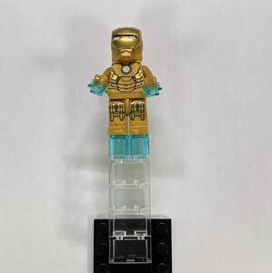 翌日発送 1 体  マーベル アベンジャーズ アイアンマン ミニフィグ ブロック LEGO レゴ 互換 ミニフィギュア w