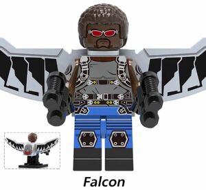 翌日発送 1 体  ファルコン マーベル アベンジャーズ ミニフィグ ブロック LEGO レゴ 互換 ミニフィギュア x