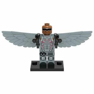 翌日発送 1 体  ファルコン マーベル アベンジャーズ  ミニフィグ ブロック LEGO レゴ 互換 ミニフィギュア w