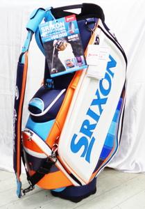 新品2021★スリクソン SRIXON 限定メジャーキャディバッグ GGC-S169L★10.5型 ブルー
