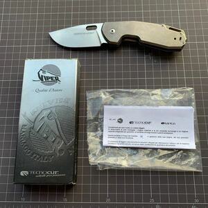 VIPER knives Odino 5916Ti ヴァイパー オディノ ジャスパーボックスネス