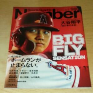 雑誌 SportsGraphic Number 2019年6月27日号 大谷翔平