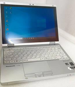 良品 超軽量2in1 タブレット Panasonic-CF-RZ4 Core-m(5Y71)・4GB・SSD128GB・カメラ・OFFICE2019・WIFI・Win10・Bluetooth・フルHD 7244