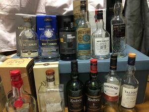 ウイスキー空瓶 12本