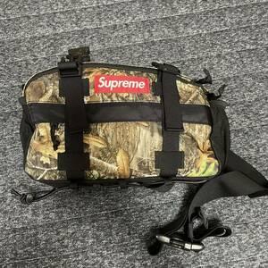 supreme waist bag real tree camo 19aw ウエストバック リアルカモ