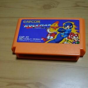 ロックマン4 ファミコンソフト