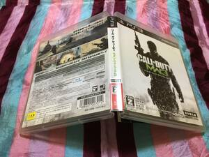 SONY Playstation3 コールオブデューティー モダン・ウォーフェア 3 プレイステーション PS3 ソニー